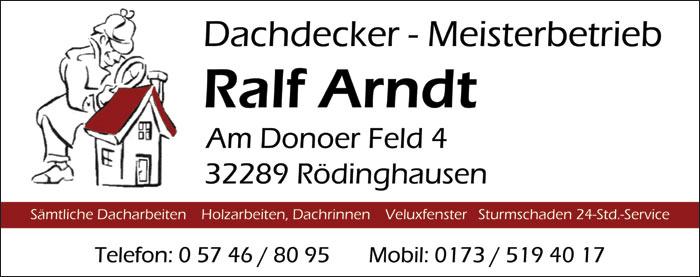 Dachdecker Meisterbetrieb Ralf Arndt